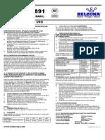 Belzona 5891 - Instrucciones de Uso