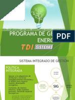 Programa de Gestión Energética
