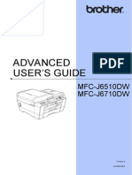 Brother Advanced User Guide