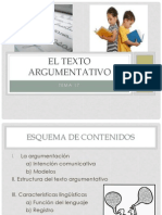 Power Point Textos Argumentativos