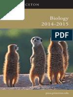 Biology 2014-2015 Catalog