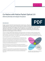 Native Packet Optical 2_0, Application Note, Open