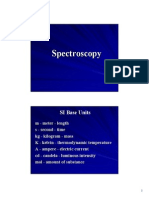 Spectroscopy Basics