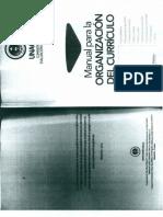 Manual de Curriculo
