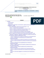 Reglamento de Organización, Funcionamiento y Régimen Jurídico de Administraciones Locales