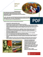 Broome County Agriculture Impact Fact Sheet