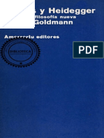 Goldmann Lucien - Lukacs Y Heidegger - Hacia Una Filosofia Nueva