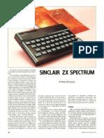 Sinclair ZX Spectrum Artigo em Inglês
