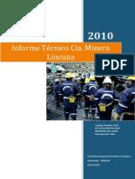 Informe minera LINCUNA.