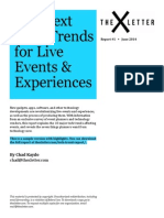 The Next Tech Trends for Live Events & Experiences