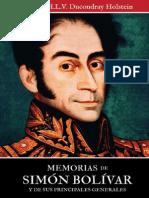Memorias de Simon Bolivar Capitulo 24