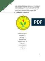 PROPOSALPENELITIAN TO(trip observation) hubungan tingkat konsumsi rokok&tingkat pendidikan kampung pasir muncang