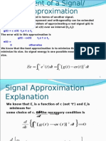 Signals approximation,2 nfciet