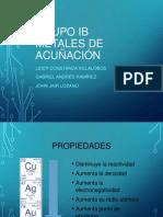 Grupo IB