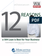 Commercial 504 Loans - 12 Reasons a 504 is Best for Your Business