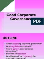 Good Corporate Governance 1