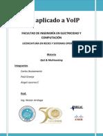 Proyecto QoS Sobre VoIP