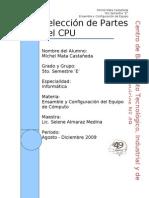 Selección de Partes del CPU