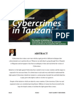 The Fight Against Cybercrime in Tanzania - Report