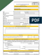 Ficha de Inscripcion Diplomado 2014 Inicio
