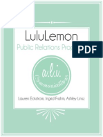 lululemon public relations proposal may2014
