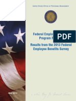 2013 Federal Employee Benefits Survey Results