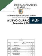 Nuevo Currculo 2006 08