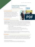 IBM's Corporate Service Corps