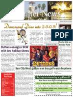 Rec Center News Sun City West Dec 2008