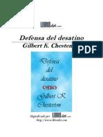 Defensa de Destino