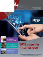 UM2, Le Magazine Universitaire 'Au Cœur de Science' n8