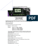 A Users Guide for the X1M PRO Transceiver v3.1.5