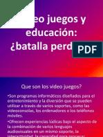 Video Juegos y Educación