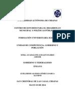 Producto Final Gobierno y Federalismo