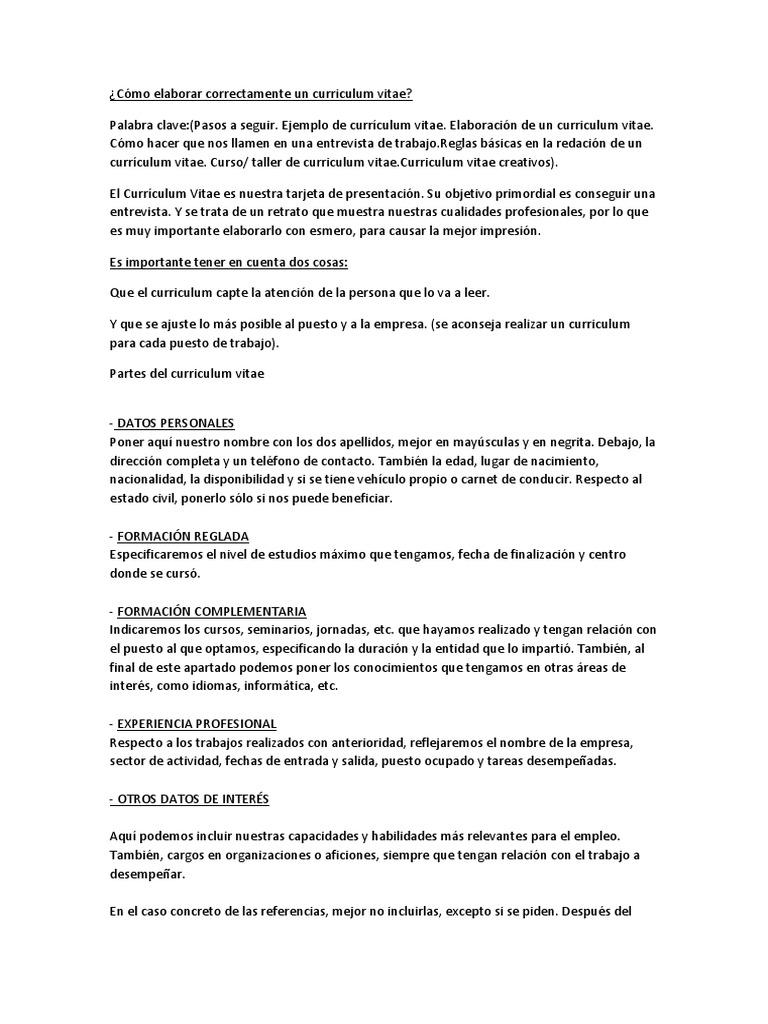 Famoso Buen Currículum Para Psw Friso - Ejemplo De Colección De ...