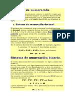 Sistemas de numeración -  cambiar binario decimal.docx