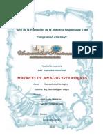 Matrices Analisis Estrategicos de Cpn s.a.c