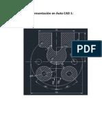 Representación en Auto CAD 2