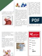 Triptico Gastritis Aguda