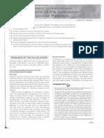 Management pancreas and gallbladder