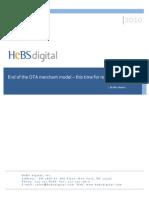 End of the Ota Merchant Model