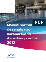 Manual Señalización Aena Aeropuertos 2012