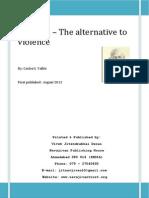 Gandhi Alternative ToViolence