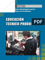 Educacion Tecnico Productiva 2009
