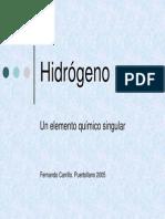 Hidrógeno Un Elemento Químico Singular