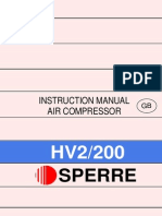 Sperre air compressor HV2-200