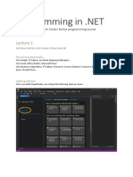 Lecture 1 .net