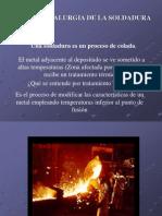 Metalurgia SOLDADURA =acero