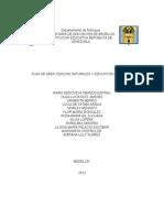 Plan de Area Ciencias Naturales 2013