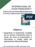 NIIF 05 Ajustada Hernán